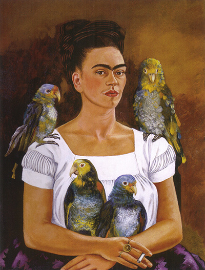 Me and My Parrots Frida Kahlo
